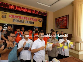 Polda Jambi Sudah Tetapkan 1.753 Tersangka Penyalahgunaan Narkoba