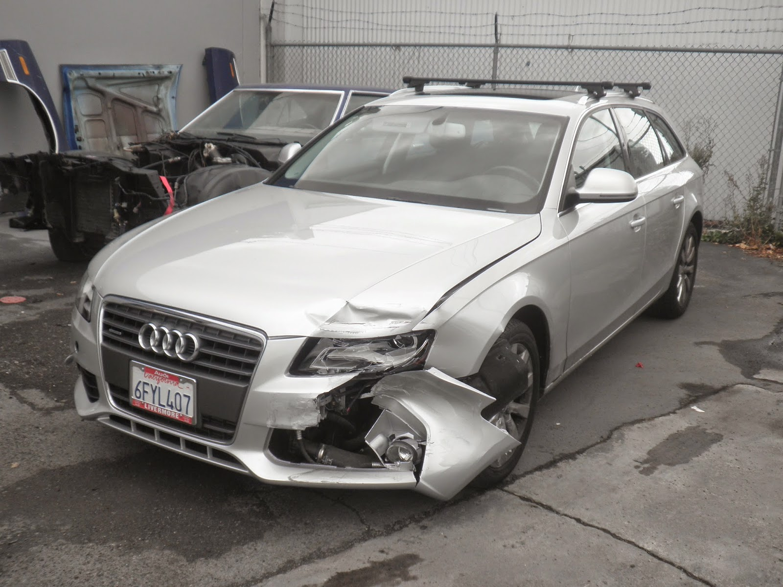 Auto before auto body crash repairs at Almost Everything Auto Body