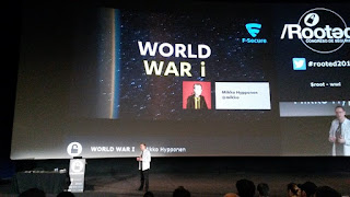 Rooted2017 - Mikko Hypoonen y World War i