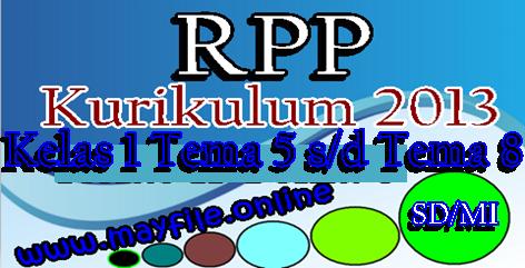 RPP K13 Kelas 1 SD/MI Semester 2 Sesuai Permendikbud 22 tahun 2016