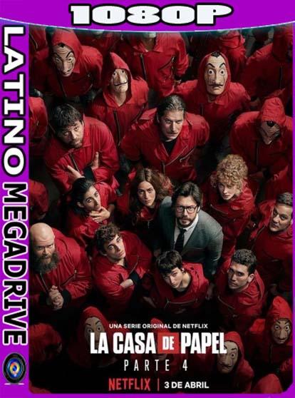La casa de papel Temporada 1-2-3-4 Español CastellanoHD [1080p] [GoogleDrive] Netflix DizonHD