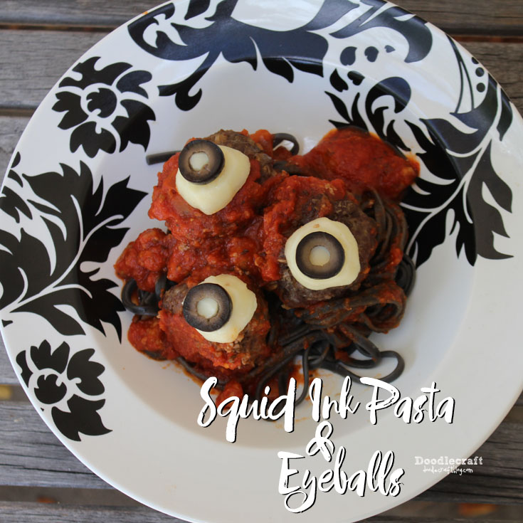http://www.doodlecraftblog.com/2015/10/squid-ink-pasta-and-eyeballs.html
