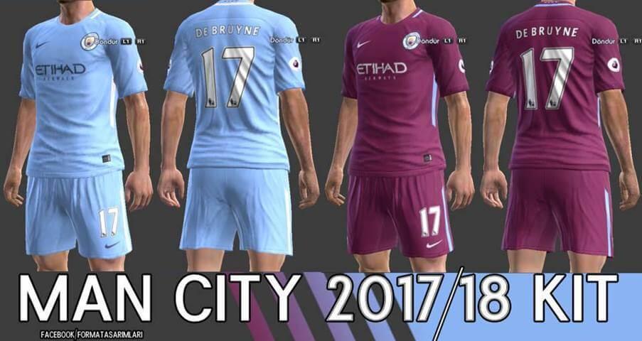 c84d3aa4164 Manchester City Kit Pes 2018 – Galleria Immagini Immagini Club