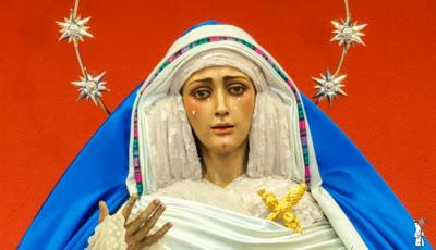 Darío Ojeda Cordero restaurará la Virgen del Dulce Nombre de Bellavista (Sevilla)