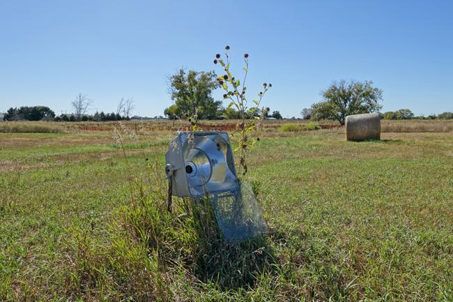 Abandoned buildings in Roscoe Nebraska