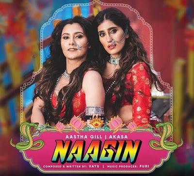 Naagin Song Lyrics - Aastha Gill | AKASA