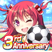 Playstore icon of 美少女育成 サッカーゲーム ビーナスイレブンびびっど!