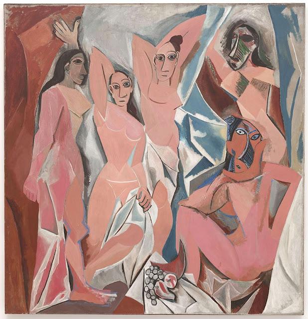 Les Demoiselles d'Avignon by Pablo Picasso