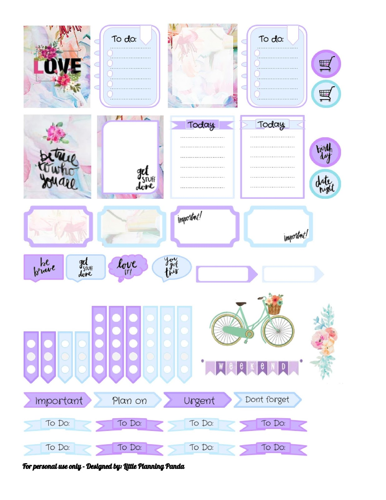 Anyhow This Week Planner Stickers Are Inspired By The New Ted Baker Collection So Here It Is
