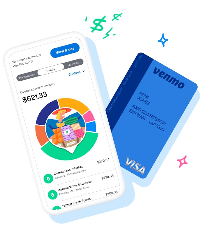 Offers!! Venmo launches its first credit card, offering up to 3% cash back, personalized rewards