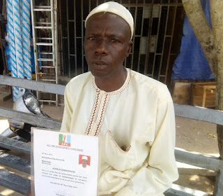 Man Who Trekked For Buhari In 2015 Seeks Assistance For Limb Pains
