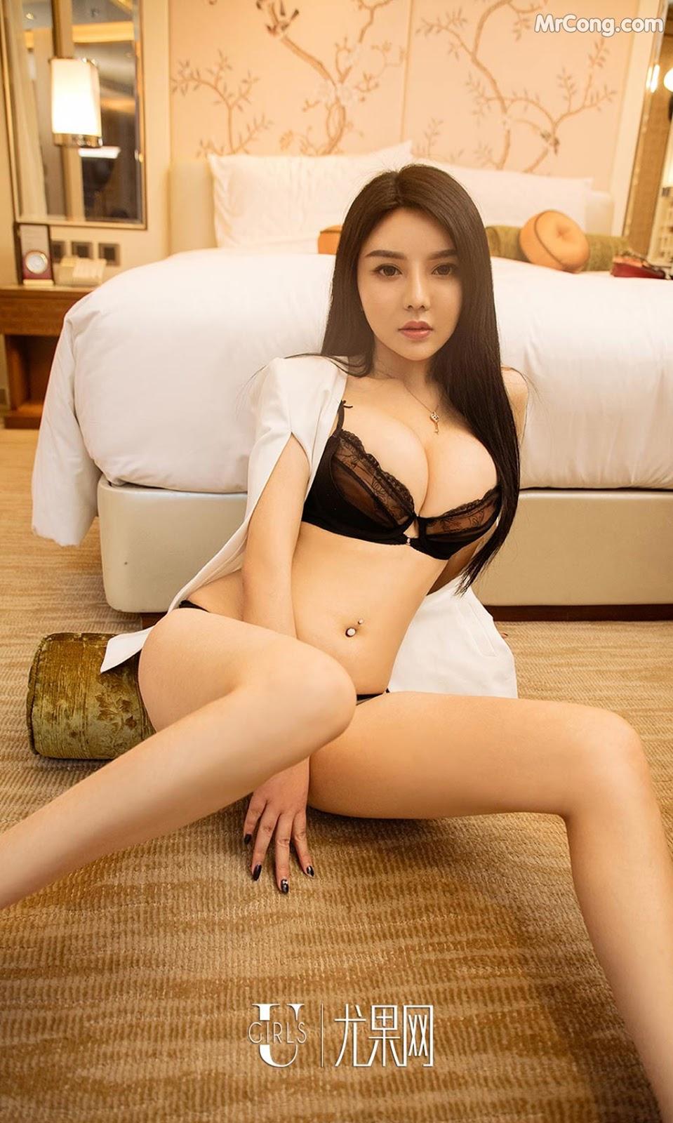 Image UGIRLS-Ai-You-Wu-App-No.1212-Sun-Yi-Fei-MrCong.com-007 in post UGIRLS – Ai You Wu App No.1212: Người mẫu Sun Yi Fei (孙一菲) (35 ảnh)