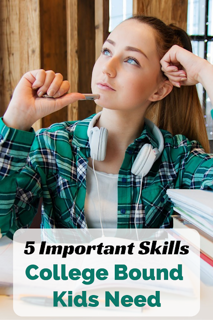 5 Important Skills College Bound Kids Need