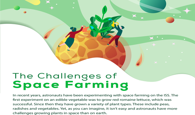 The Challenges of Space Farming