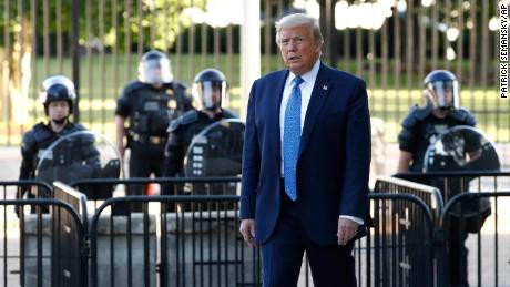 President Trump admits he went to White House bunker during George Floyd protests