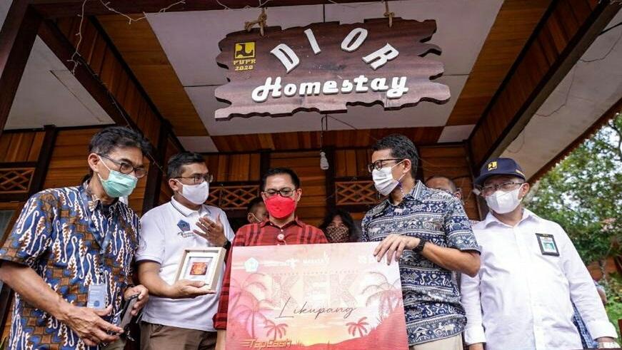 Menparekraf Genjot Program Desa Wisata, Bangun 289 Homestay di Sulawesi Utara
