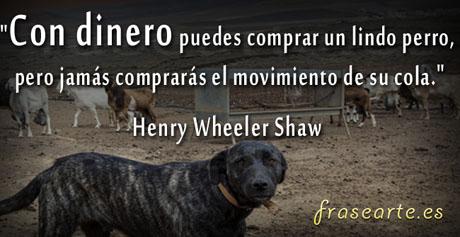Citas con dinero, Henry Wheeler Shaw