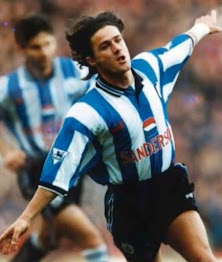 Benito Carbone became a hero to Sheffield Wednesday fans