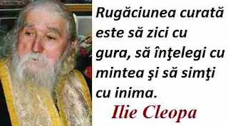 Maxima zilei: 10 aprilie - Ilie Cleopa