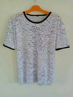 Beli Kaos Polos Bahan Spandek Harga Murah di Malinau