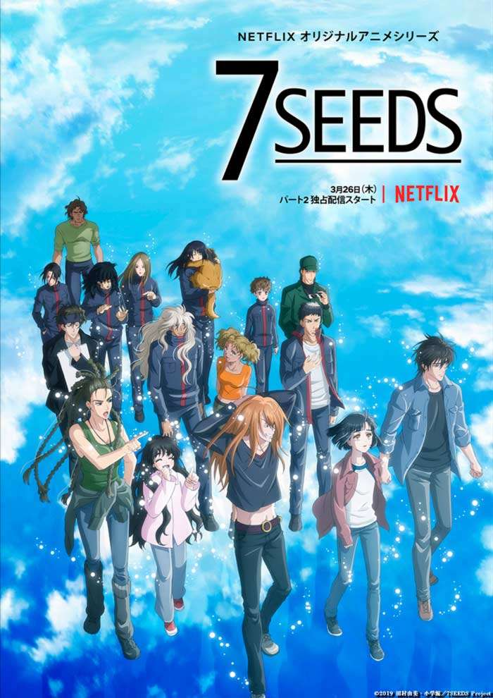 7 Seeds anime - Temporada 2 - Netflix