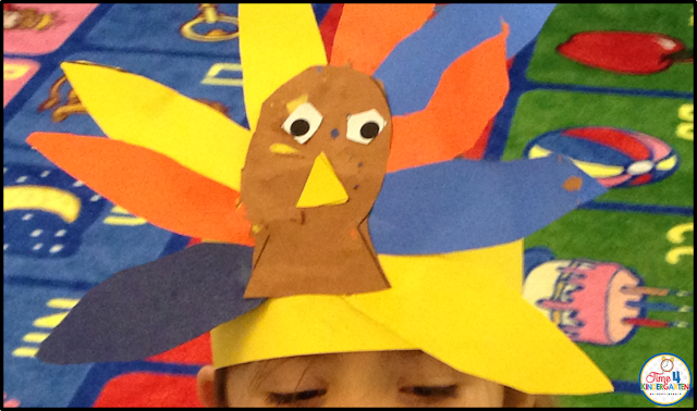 Turkey craft headband