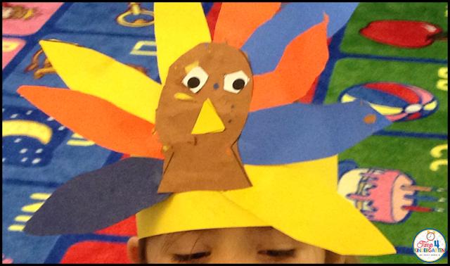 Turkey craft headband