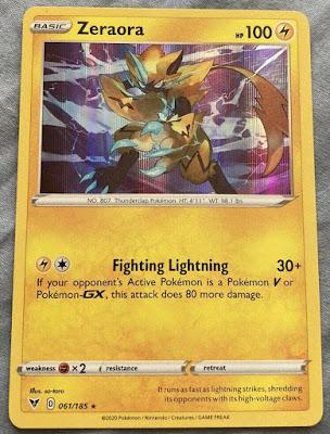 Non Holo Pokemon Card Example