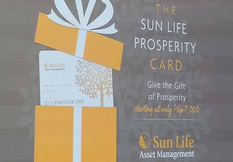Sun Life Prosperity Card Now Available in P1,000 Denomination