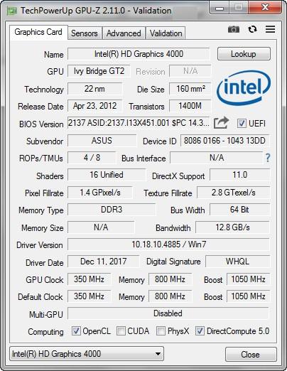 Aplikasi GPU-Z