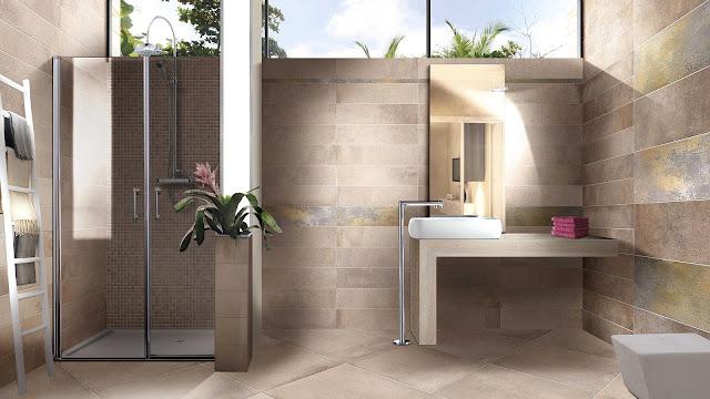 Comfort room tiles design ideas of Now series
