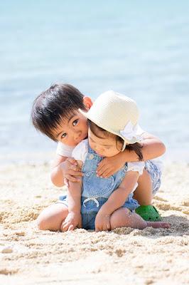 沖縄 家族写真 ビーチフォト
