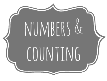 Numbers and counting themed activities and FREE printables {Welcome to Mommyhood} #montessori, #numbers, #preschoolactivities, #toddleractivities, #freeprintables