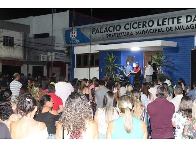 Prefeito Lielson Landim comemora conquista de mais uma grande obra para o município