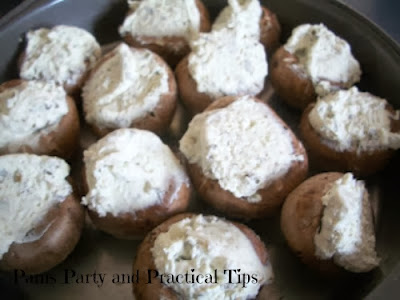 how to make a stuffed mushroom appetizer