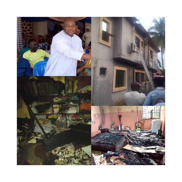 So Sad: Priest dies in an early morning fire at St. Peter's Catholic Church.