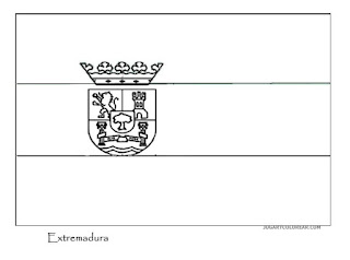 Bandera de Extremadura COLREAR