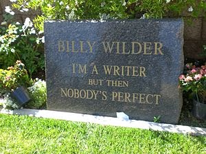 Grave of Billy Wilder