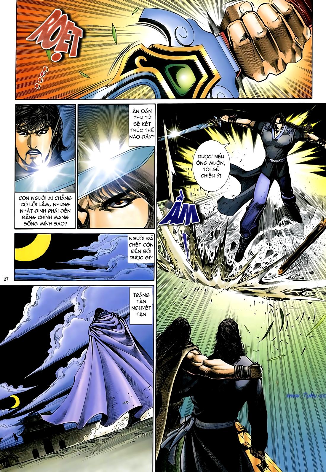 Anh hùng vô lệ Chap 29 trang 28