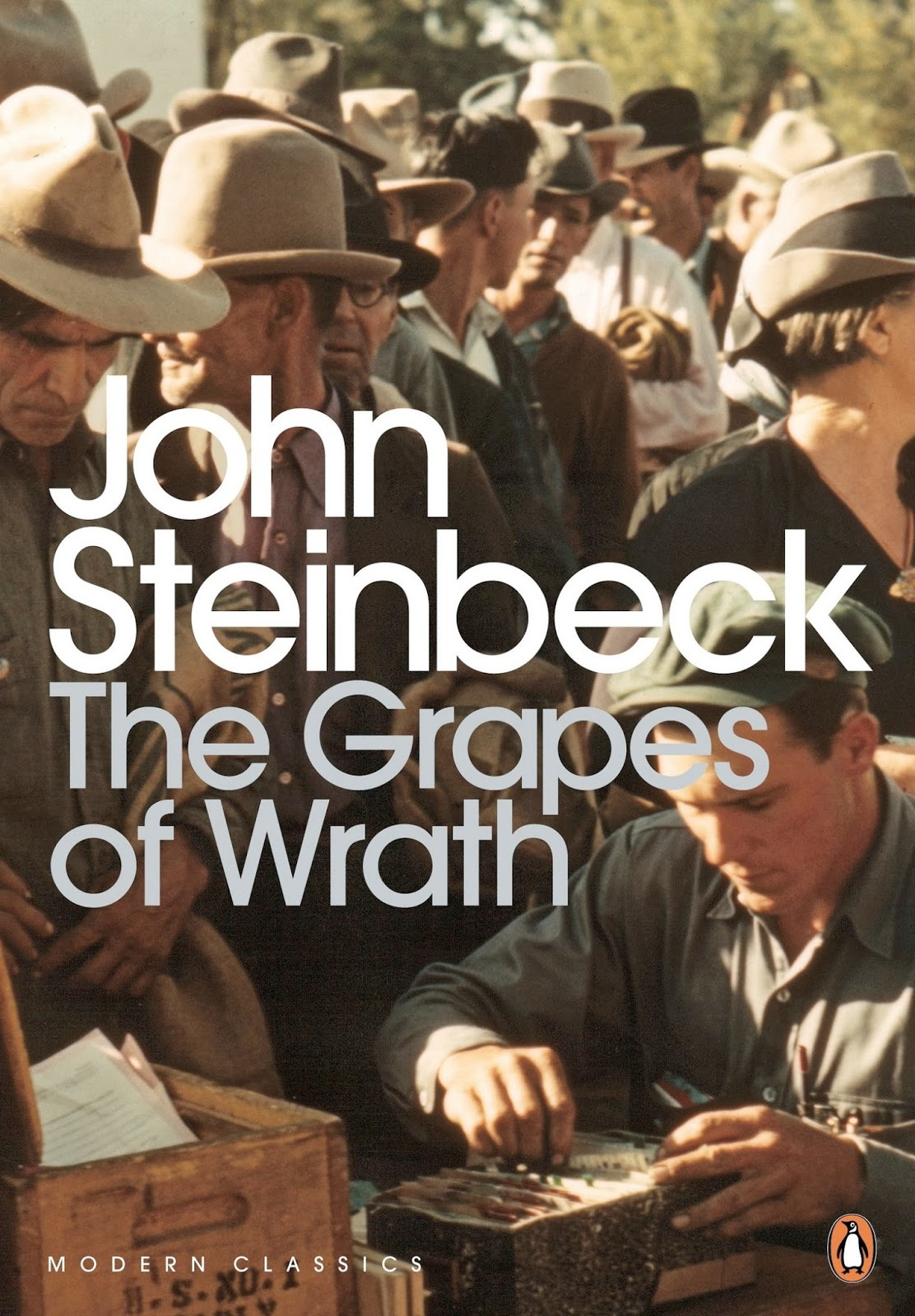 An analysis of migrants in the grapes of wrath by john steinbeck