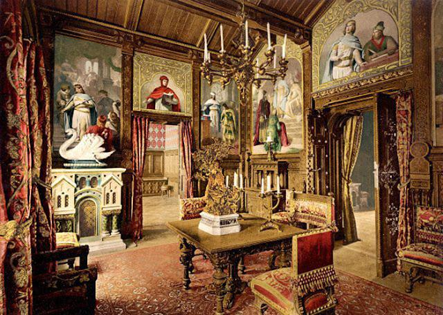 Dentro do castelo, as óperas de Wagner ganham vida