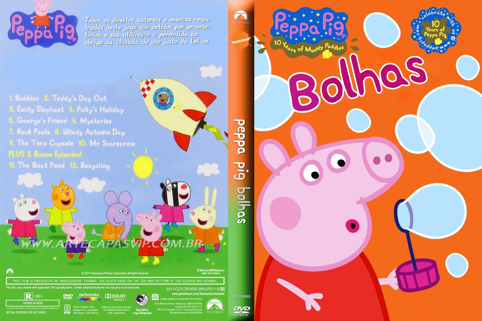 Peppa Pig Bolhas DVD-R Peppa 2BPig 2BBolhas 2B  2BXANDAO 2BDOWNLOAD