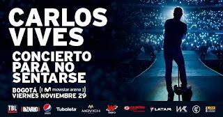 Concierto de CARLOS VIVES en Bogotá 2019