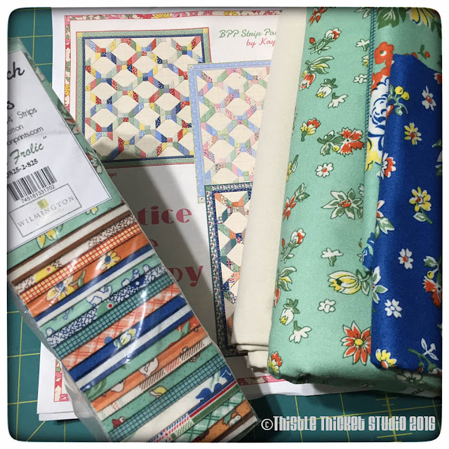 Thistle Thicket Studio, Fall Frolic fabric