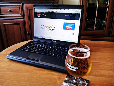 Searching Beer on Laptop