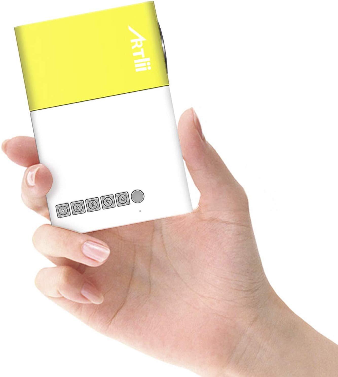 Artlii 2019 New Pocket Projector
