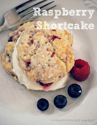 Raspberry Shortcake Recipe