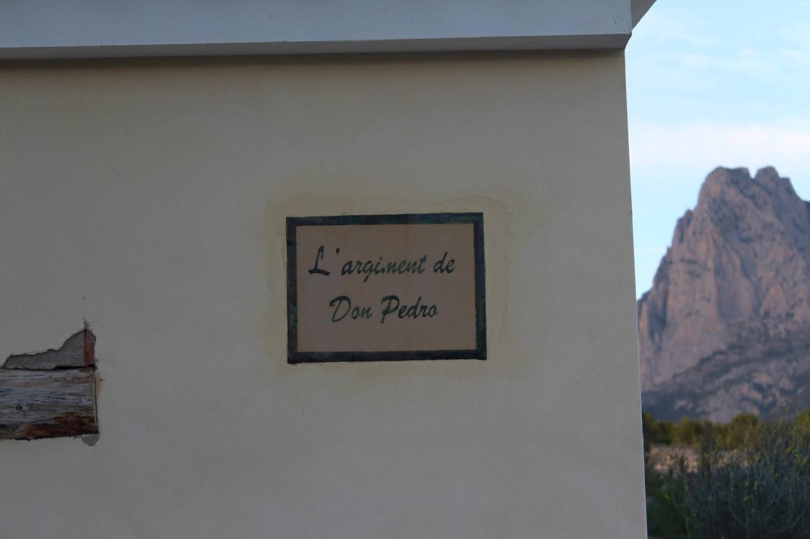La caseta de Don Pedro en el Arginenc