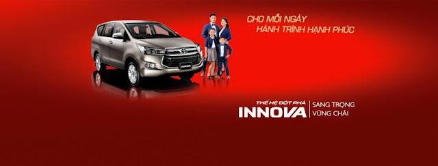 Toyota Thanh Hóa - Chương trình lái thử xe Innova 2016 hoàn toàn mới