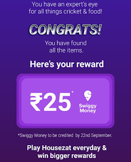 win swiggy free Cash